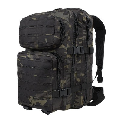 Plecak Mil-Tec Assault LaserCut Multicam Black 36L