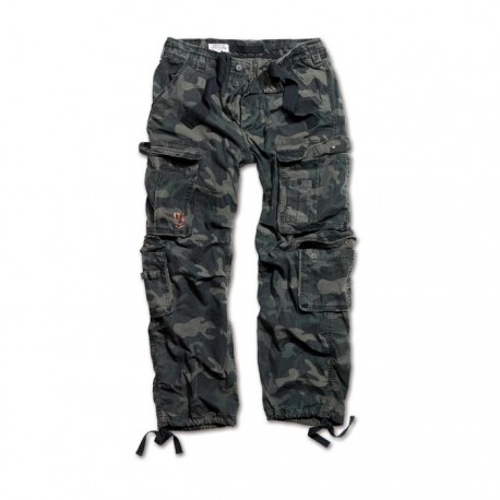 Spodnie Surplus Airborne Black Camo
