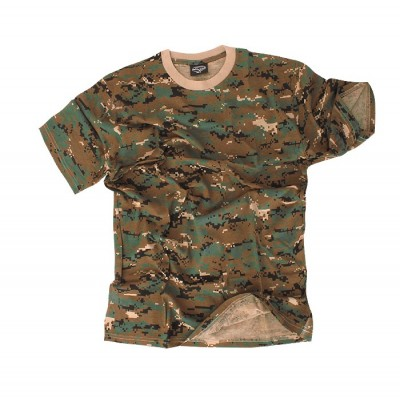 Koszulka T-shirt Mil-tec DIGITAL WOODLAND