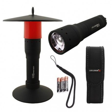 Latarka Led Lenser P7.2 CAMP SET