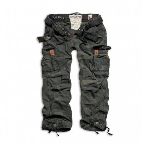 Spodnie Surplus PREMIUM BLACK CAMO