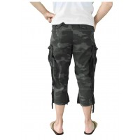 Spodenki Surplus 3/4 ENGINER Black Camo