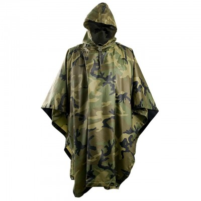 Poncho Helikon U.S. Model US WOODLAND