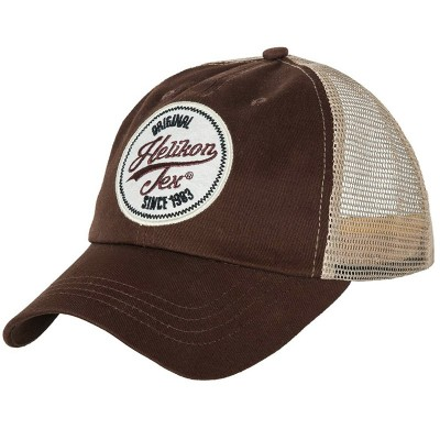 Czapka Trucker Helikon Logo Cap Mud Brown
