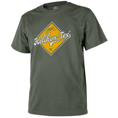 Koszulka T-Shirt Helikon Road Sign Olive Green