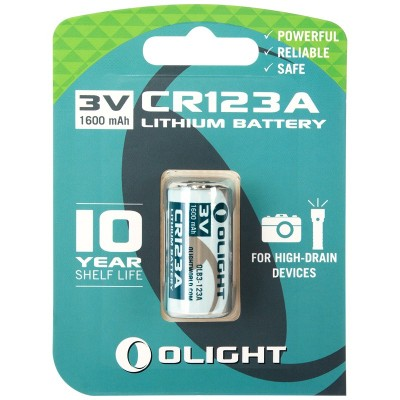 Bateria OLIGHT CR123A 3V 1600 mAh